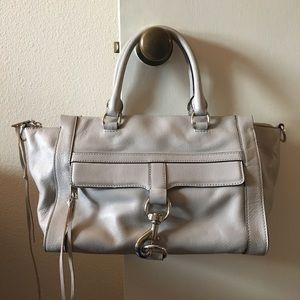 Like new Rebecca Minkoff Bowery Satchel in Gray